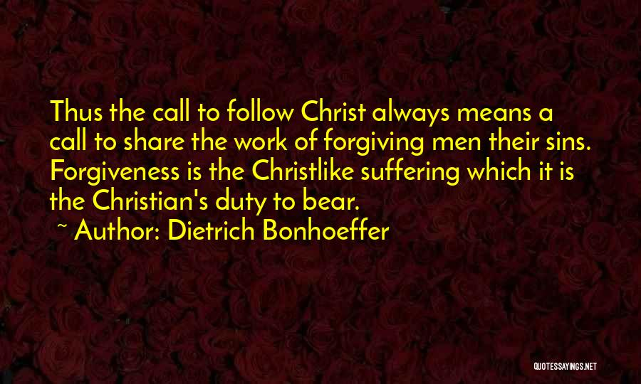 Call Of Duty Quotes By Dietrich Bonhoeffer