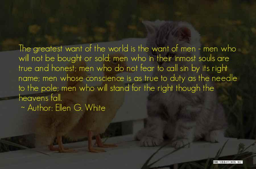 Call Of Duty Quotes By Ellen G. White