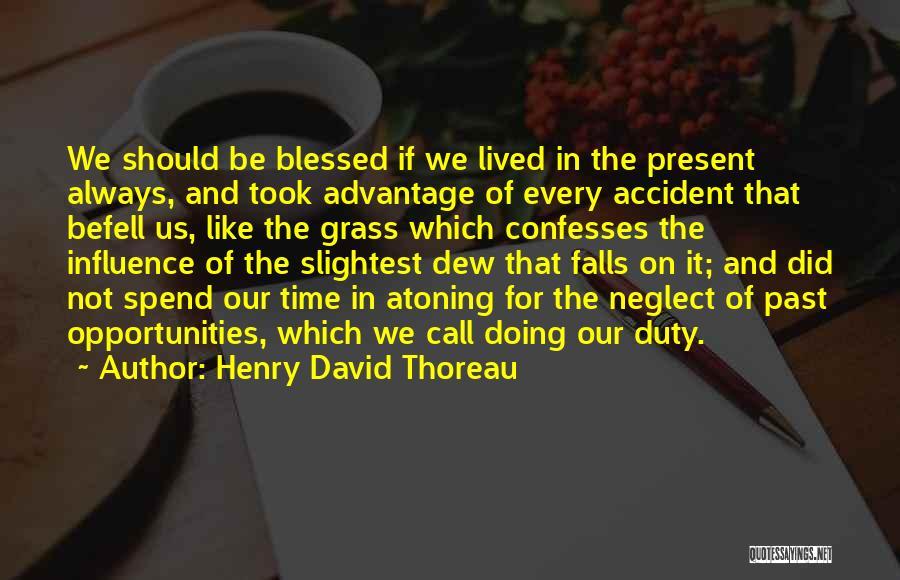 Call Of Duty Quotes By Henry David Thoreau