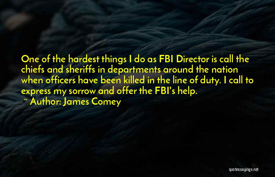 Call Of Duty Quotes By James Comey