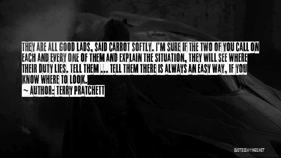 Call Of Duty Quotes By Terry Pratchett