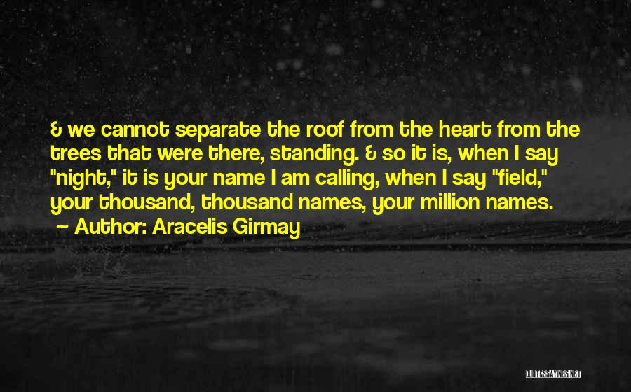 Calling Your Name Quotes By Aracelis Girmay