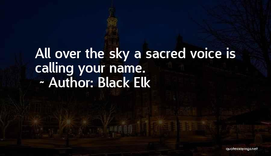 Calling Your Name Quotes By Black Elk