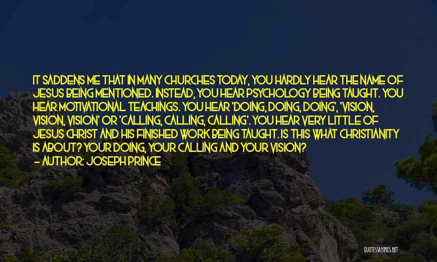 Calling Your Name Quotes By Joseph Prince