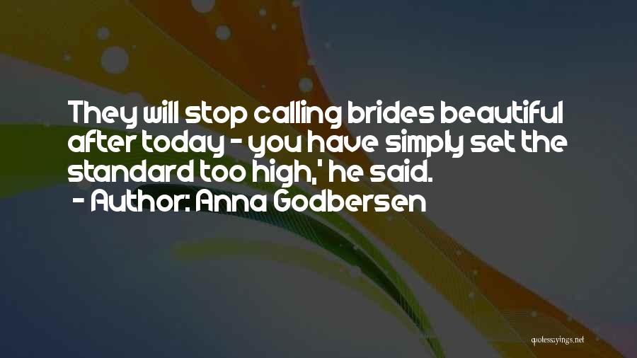 Calling Yourself Beautiful Quotes By Anna Godbersen