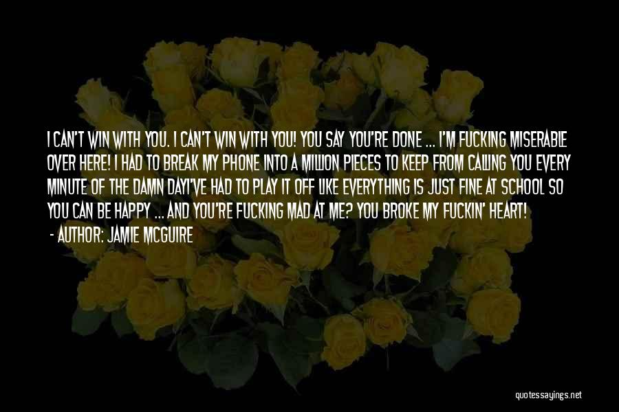 Calling Yourself Beautiful Quotes By Jamie McGuire