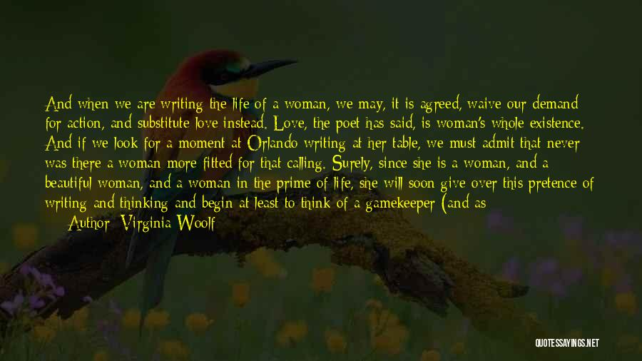 Calling Yourself Beautiful Quotes By Virginia Woolf