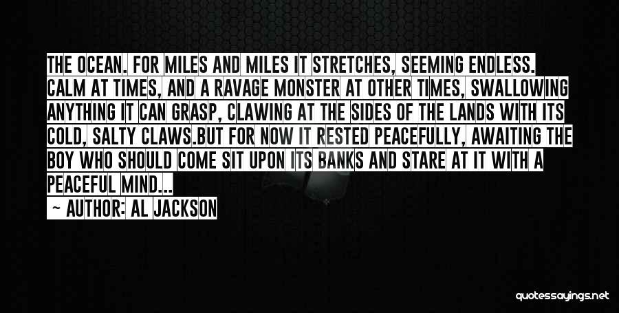 Calm Ocean Quotes By Al Jackson