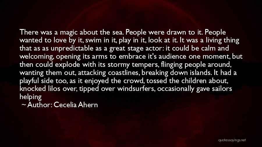 Calm Ocean Quotes By Cecelia Ahern