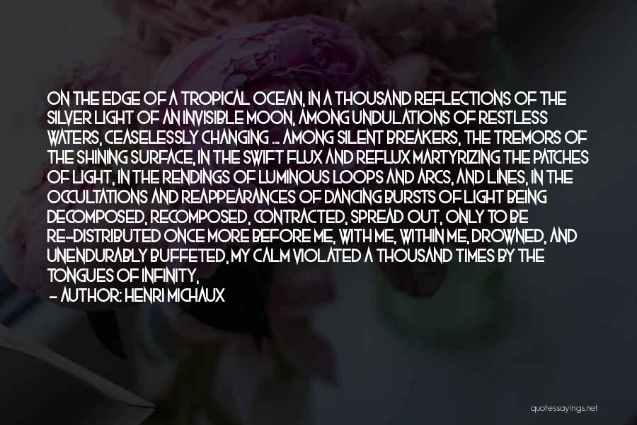 Calm Ocean Quotes By Henri Michaux