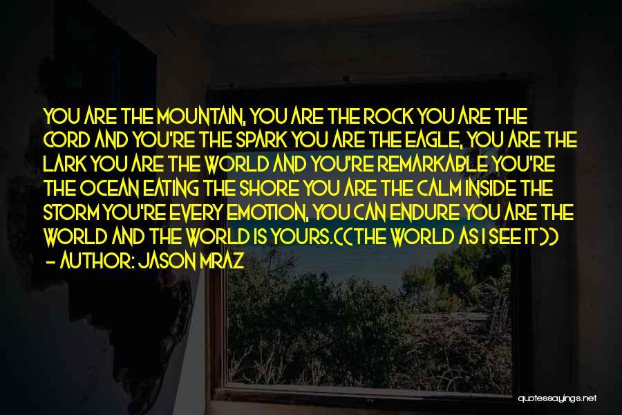 Calm Ocean Quotes By Jason Mraz