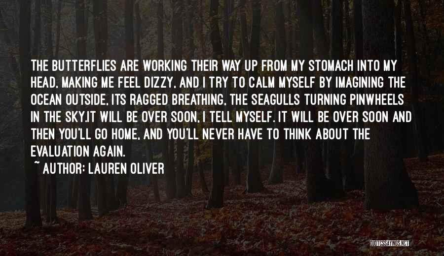 Calm Ocean Quotes By Lauren Oliver