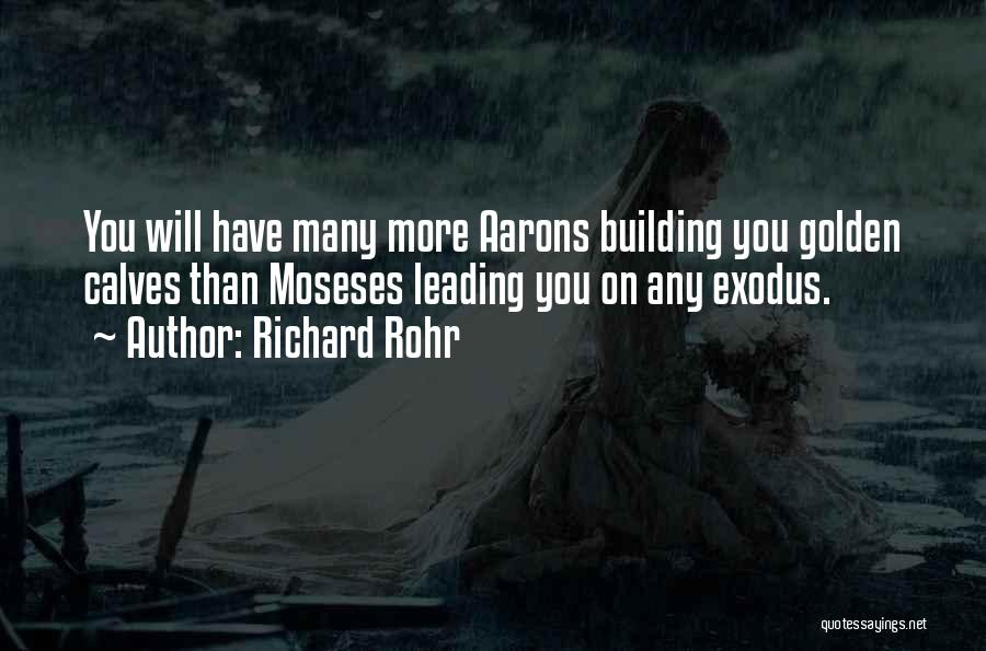 Calves Quotes By Richard Rohr