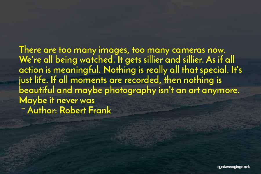 Cameras And Life Quotes By Robert Frank