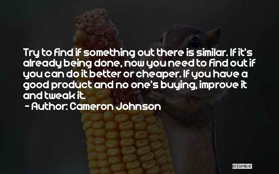 Cameron Johnson Quotes 317007