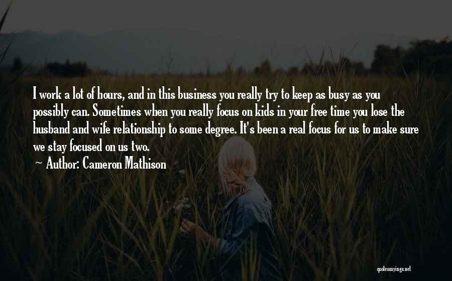 Cameron Mathison Quotes 1687089