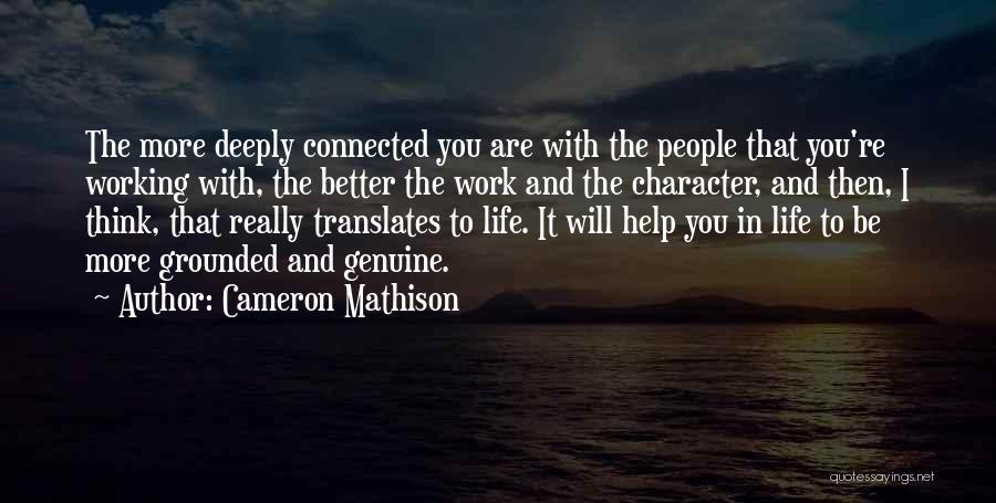 Cameron Mathison Quotes 243585