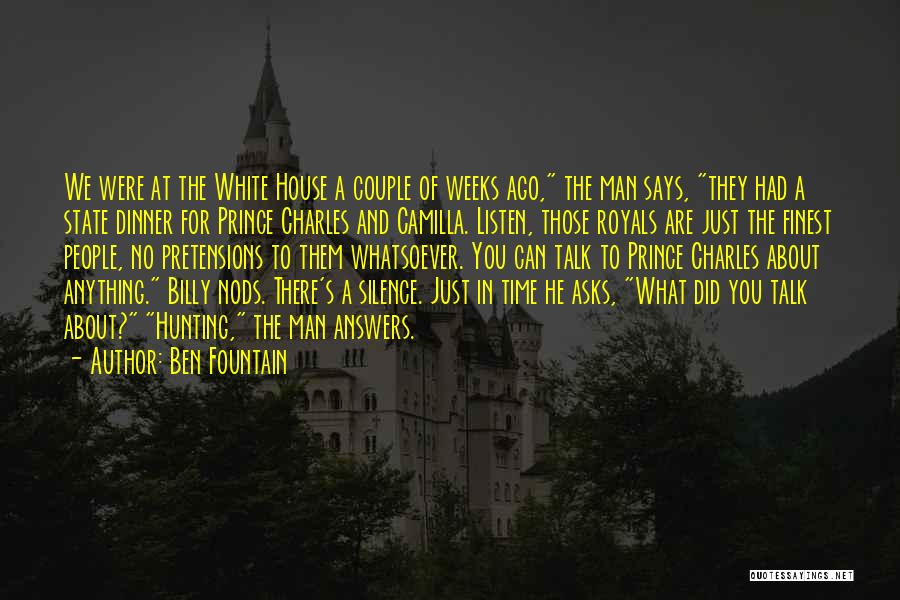 Camilla Quotes By Ben Fountain