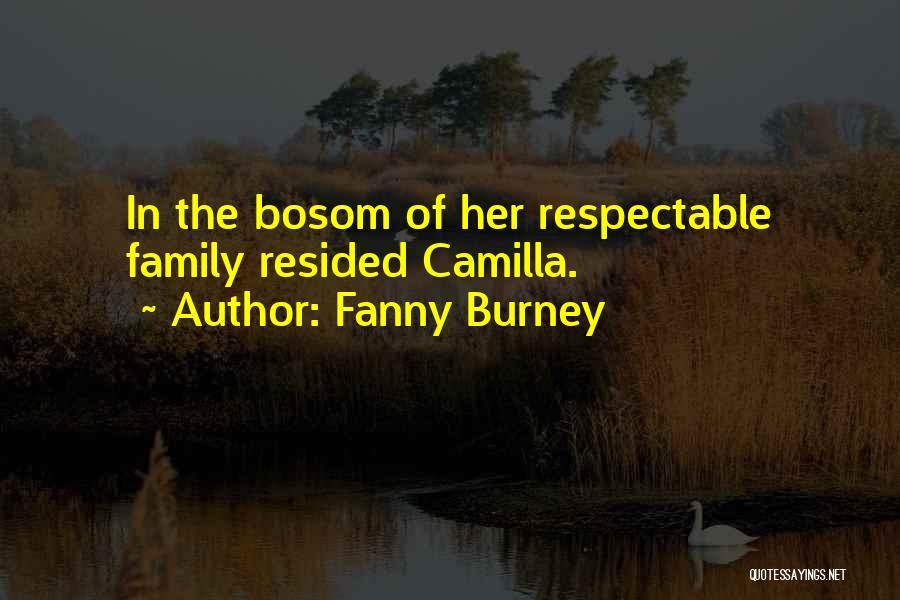 Camilla Quotes By Fanny Burney