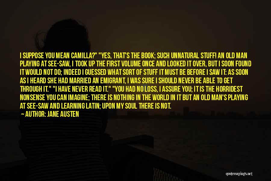 Camilla Quotes By Jane Austen