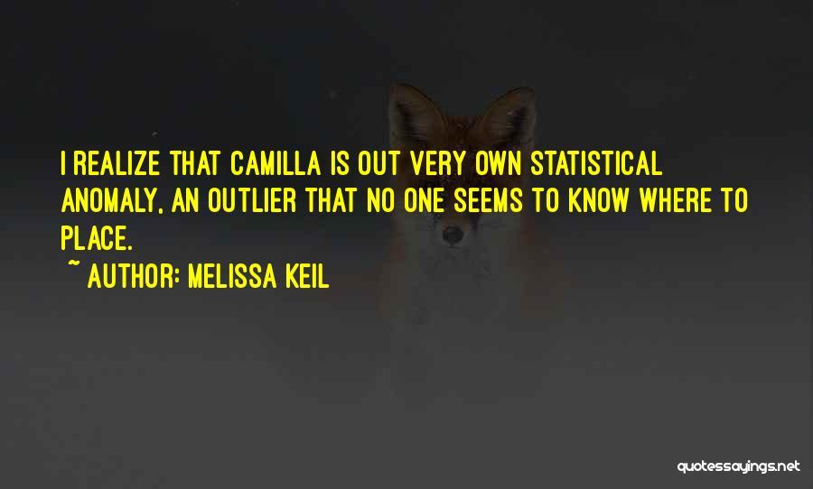 Camilla Quotes By Melissa Keil