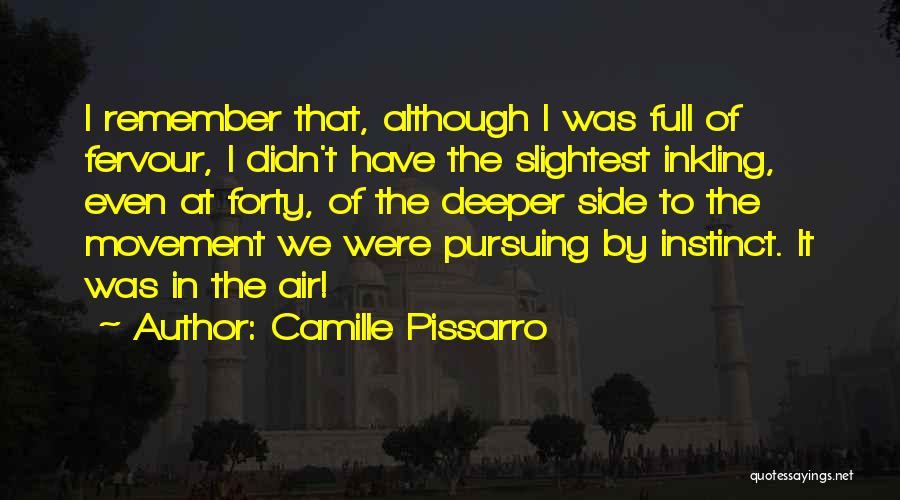 Camille Pissarro Quotes 650575