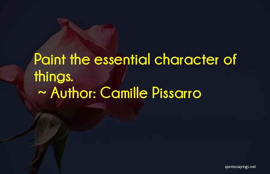 Camille Pissarro Quotes 708501