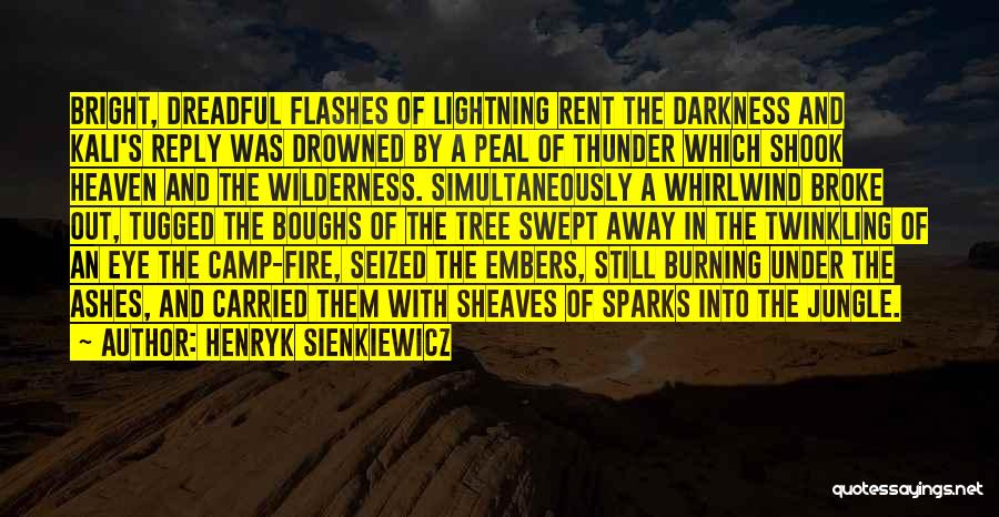 Camp Out Quotes By Henryk Sienkiewicz