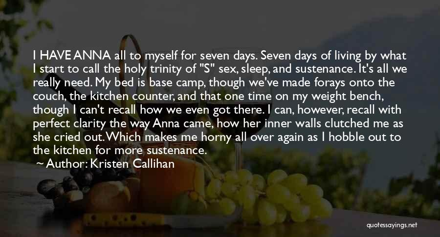 Camp Out Quotes By Kristen Callihan