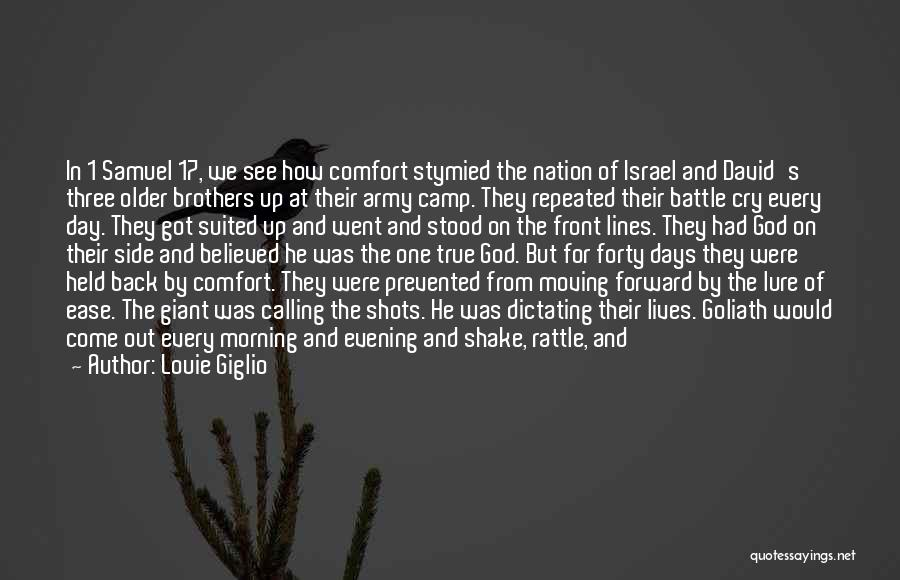 Camp Out Quotes By Louie Giglio