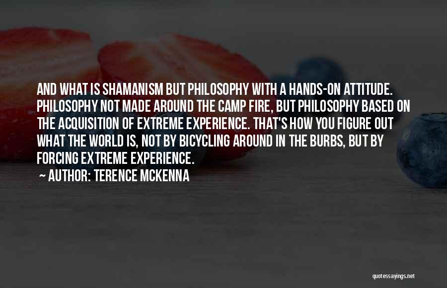 Camp Out Quotes By Terence McKenna