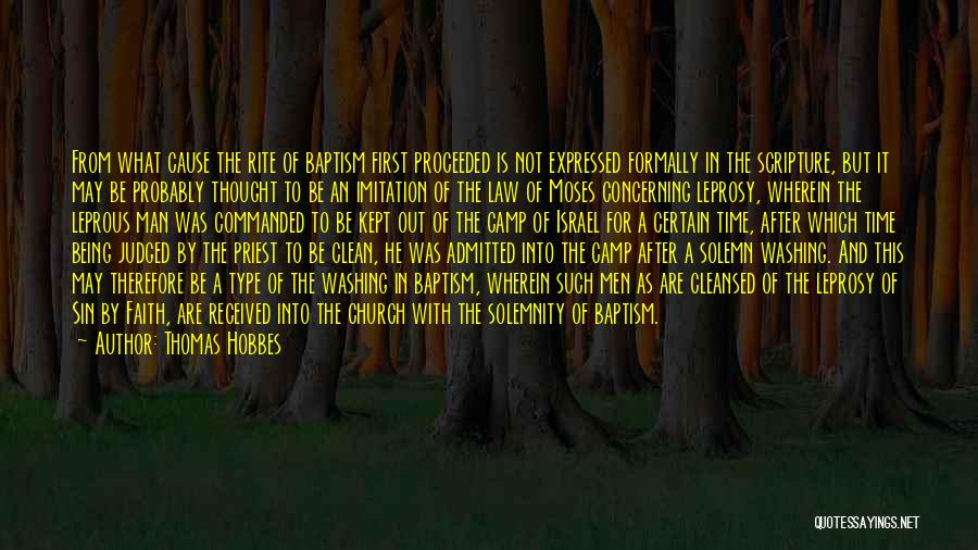 Camp Out Quotes By Thomas Hobbes