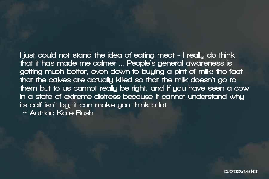 Can Do So Much Better Quotes By Kate Bush