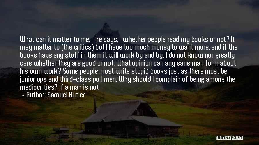 Can Do So Much Better Quotes By Samuel Butler