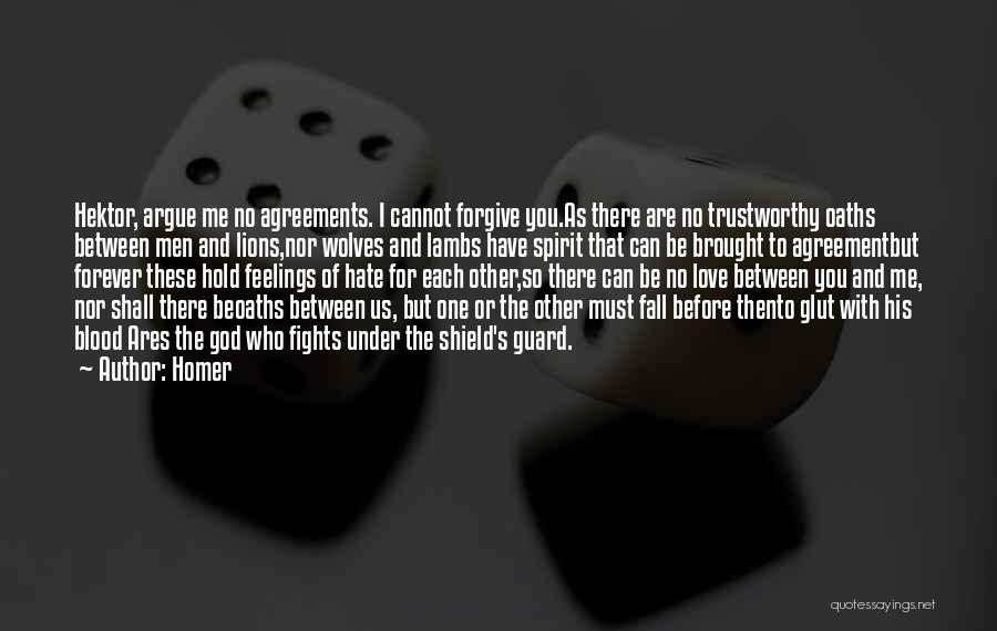 Can I Forgive Quotes By Homer