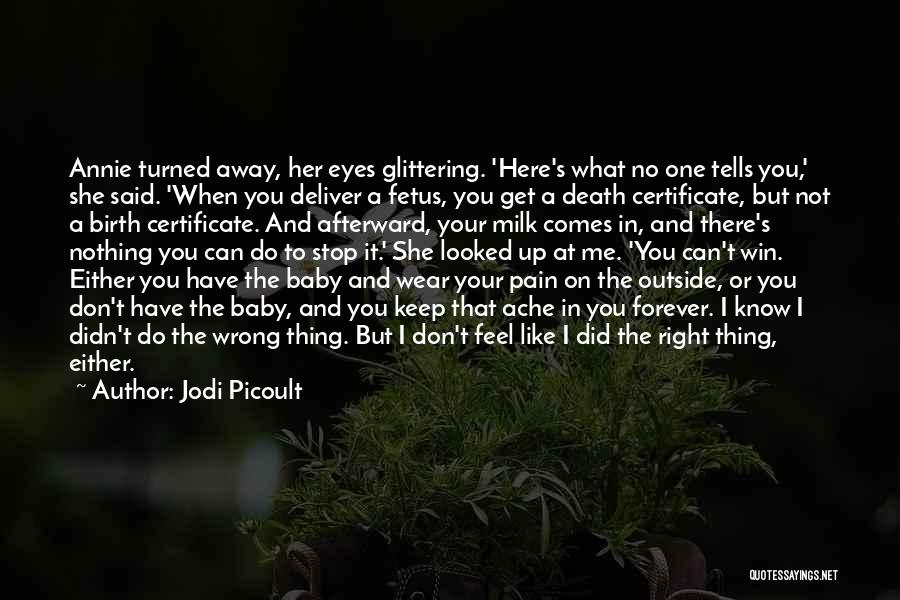 Can I Have You Forever Quotes By Jodi Picoult