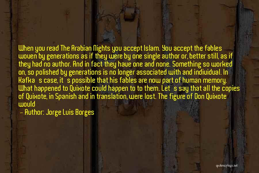 Can I Have You Forever Quotes By Jorge Luis Borges