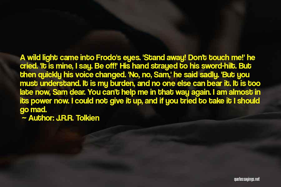 Can Take My Eyes Off You Quotes By J.R.R. Tolkien