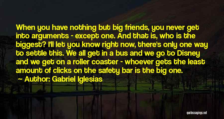 Can We At Least Be Friends Quotes By Gabriel Iglesias