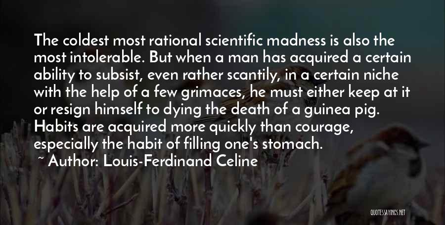 Can You Please Help Me With Quotes By Louis-Ferdinand Celine