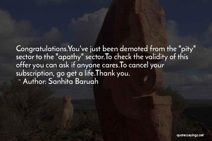 Cancel My Subscription Quotes By Sanhita Baruah