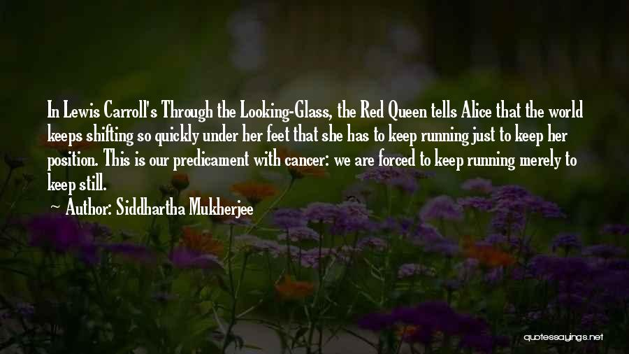 Cancer And Running Quotes By Siddhartha Mukherjee