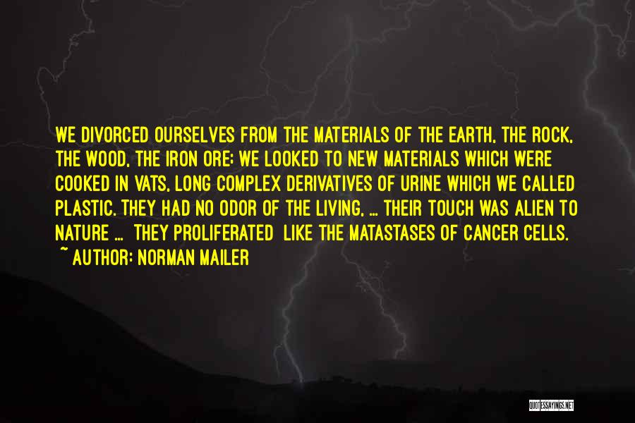 Cancer Cells Quotes By Norman Mailer