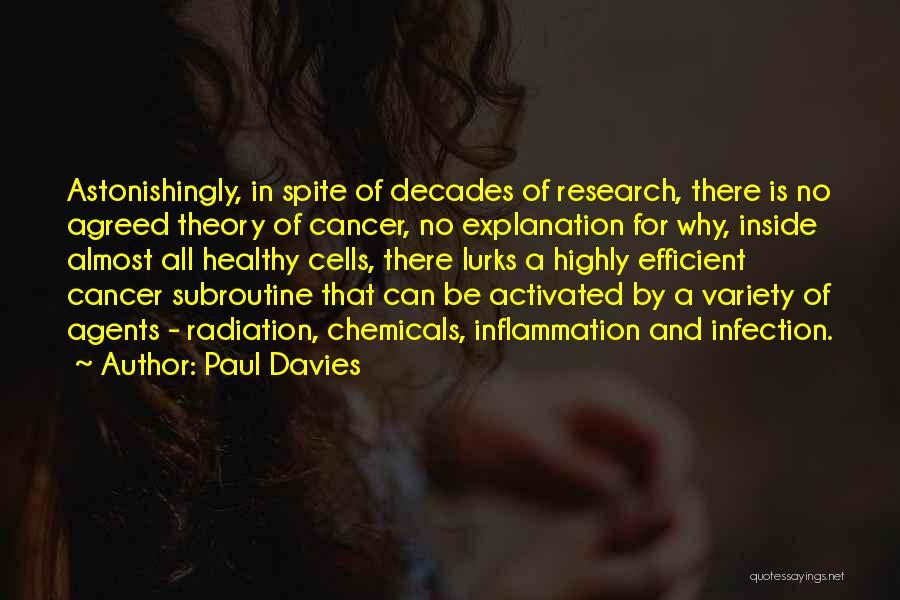 Cancer Cells Quotes By Paul Davies