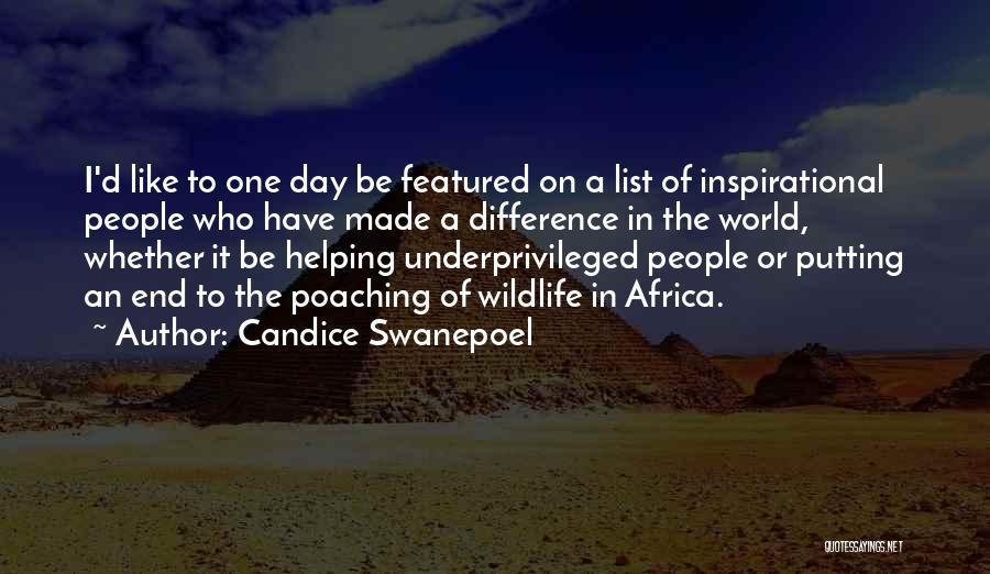 Candice Swanepoel Quotes 1068924