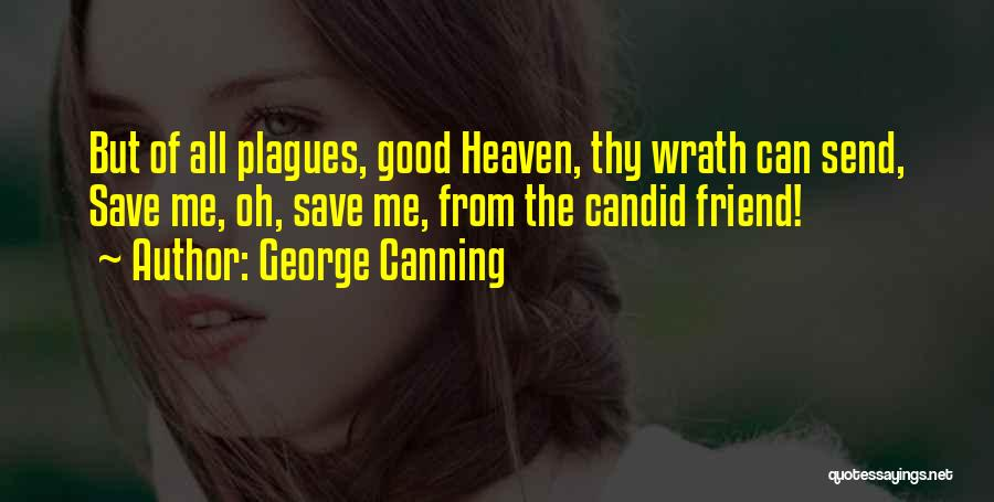 Candid Quotes By George Canning