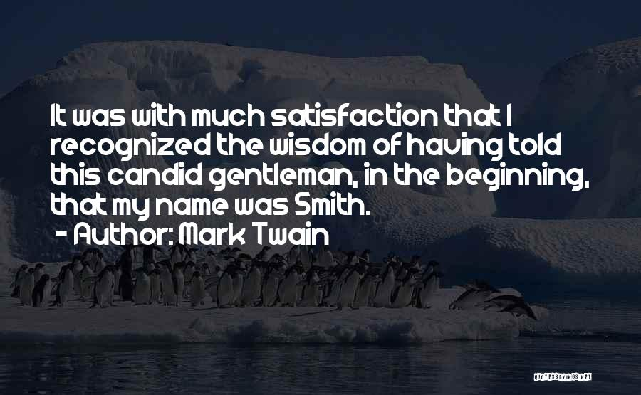 Candid Quotes By Mark Twain
