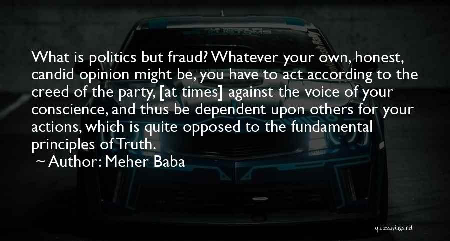 Candid Quotes By Meher Baba