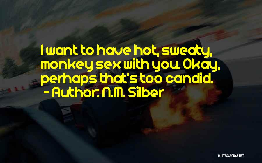 Candid Quotes By N.M. Silber