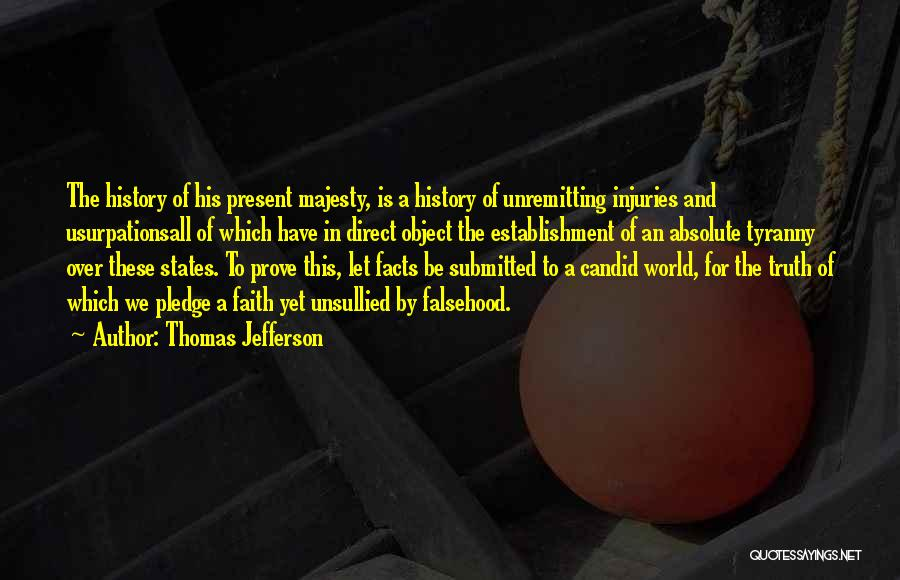 Candid Quotes By Thomas Jefferson